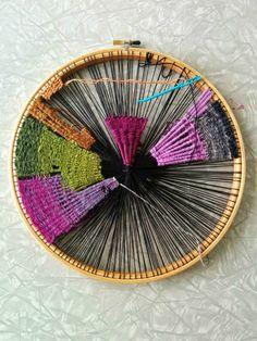 tissage tambour de brodeuse