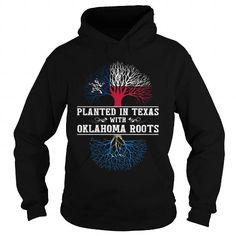 028-PLANTED IN TEXAS WITH OKLAHOMA ROOTS T-Shirts, Hoodies (38.95$ ==► Order Shirts Now!)
