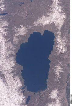 Lake Tahoe From Space #Tahoe