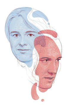 Levit and Trifonov for The Economist's 1843 Magazine on Behance