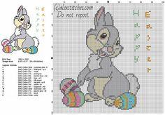 Easter cross stitch patterns