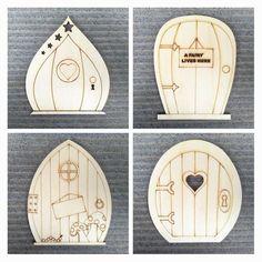 Wooden Fairy Door 10 Piece