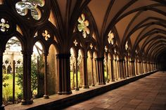 Cloisters of Salisbury Cathedral