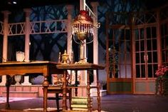the seagull act four set design - Google Search
