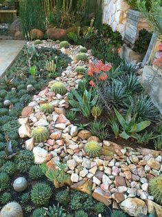 Your Rock Garden Panorama Not every panorama is glorious and having a rock garden will assist in numerous these areas. Outdoor Landscaping, Front Yard Landscaping, Backyard Landscaping, Outdoor Gardens, Landscaping Ideas, Nice Backyard, Backyard Ideas, Creative Landscape, Garden Landscape Design