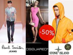 Da oggi i maggiori brand di moda e scarpe al 50% di #SCONTO! #StoneIsland #DSQUARED2 #PaulSmithJeans #NeilBarrett #Espadrillas #Clarks a metà prezzo su http://www.marsilistore.com/ #fashion #shoes #springsummer #SALE #Italy