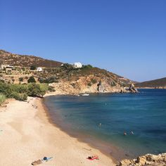 Vagia beach, Patmos. Greece.