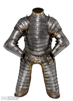 Three-quarter armour for a boy about 12 years. 1550. England. - from the Royal Armouries