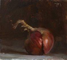 Julian Merrow-Smith: Today's painting: Onion