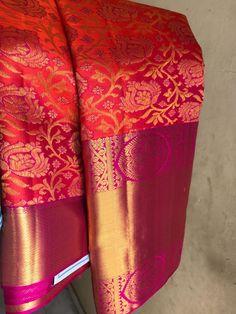 Kanjivaram Sarees Silk, Mysore Silk Saree, Kerala Saree, Indian Wedding Theme, Desi Wedding, Bridal Wedding Dresses, Indian Bridal Sarees, Wedding Silk Saree, Latest Silk Sarees