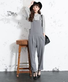 HARE サイドジップサロペット / sidezip overall on ShopStyle
