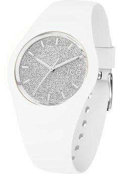 Montre ICE-Glitter - White/Silver - Unisex 001351 - Ice-Watch - Vue 1
