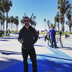 Not a complete Cali trip for me without hitting #venicebeach!