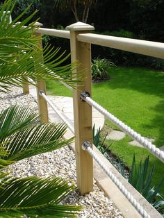 garden handrail with