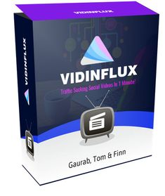 Vidinflux review - Tap Into Billions Of Video Visitors Using Special Social Videos In 1 Minute Vidinflux is a simple software that helps you get mass control over huge audiences using highly engaging & converting social videos in minutes. Normal Fanpages turned into engagement & money powerhouses the minute they started using social videos. This changes the way video is being engaged with forever!