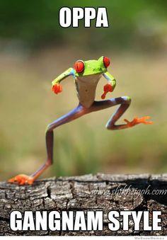 Oppa Frognam Style.