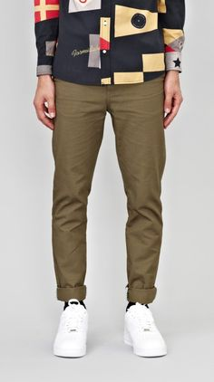 The most recent additions to the I Love Ugly Online Store. I Love Ugly, Dapper Men, New Item, Classic Man, Men Looks, Army Green, Khaki Pants, Menswear, Clothes