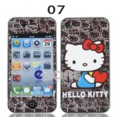 Hello Kitty Stickers for iPhone 4 /4S $8.85