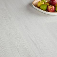 Colours Grey Oak effect Luxury vinyl click flooring m² Pack - B&Q for all your home and garden supplies and advice on all the latest DIY trends Luxury Vinyl Click Flooring, White Vinyl Flooring, Vinyl Flooring Bathroom, Luxury Vinyl Tile, Bedroom Flooring, Kitchen Flooring, White Washed Oak, Grey Oak