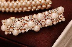 Jewelry Show of DIY Pearl and Rhinestone Hair Clips | PandaHall Beads Jewelry Blog