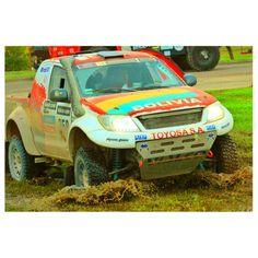Marco Bulacia sube a la 32 en la general del Dakar 2014