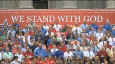 'Standing Up for God': Thousands Flood S.C. Statehouse Grounds at Anti-Abortion, Pro-Traditional Marriage Rally