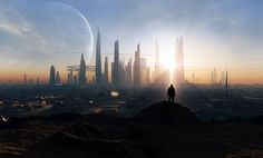 Image result for sci fi cityscape