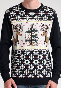 Volcom XXXMas Crew neck jumper The Volcom XXXMas sweater from the Holiday 2014 Collection. Yep its just around the corner and you wont find a better Christmas jumper in Santas wardrobe. 100% Cotton slim fit pullover with jacquard C http://www.comparestoreprices.co.uk/clothing/volcom-xxxmas-crew-neck-jumper.asp