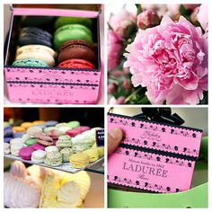 Laduree ~ the most fabulous desserts ever made in the most exquisite bakeries I've ever laid eyes on!!