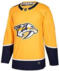 Amazon.com   Nashville Predators Adidas NHL Men s Climalite Authentic Team  Hockey Jersey   Sports 1d0d36c65
