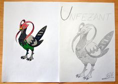 Unfezant (Male) by MrMufu94.deviantart.com on @deviantART