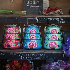 Floral Enamel Tiffin Tin from notonthehighstreet.com