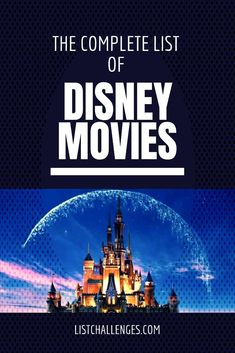 #moviechallenge #disneymovies #complete #average #disney #movies #person #click #find #list #seen #rank #have #man... Disney Movies, Challenges, Movie Posters, Disney Films, Film Poster, Film Posters