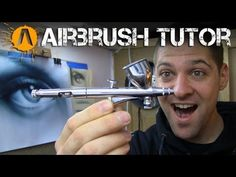 How to control an airbrush