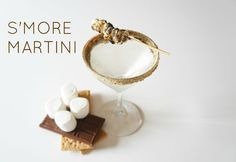 S'MORE MARTINI  http://www.instructables.com/id/Smore-Martini/#