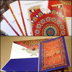 Unconventional Wedding Cards With Conventional Indian Designs. #Wedding #WomenTriangle www.womentriangle.com