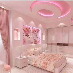 38 Modern Eclectic Decor Trending This Year interiors homedecor interiordesign h. - 38 Modern Eclectic Decor Trending This Year interiors homedecor interiordesign homedecortips - House Ceiling Design, Bedroom False Ceiling Design, Small Bathroom Paint Colors, Pink Bedroom Decor, Bedroom Ideas, Girl Bedroom Designs, Teen Girl Bedrooms, Dream Rooms, Luxurious Bedrooms