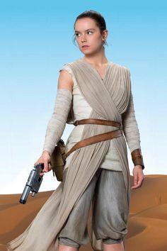 Daisy Ridley • Star Wars VII • Rey