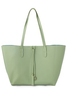 Twinset Tote Bag in Mint - Retro, Indie and Unique Fashion