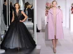 Christian Dior Haute Couture | Exit and Entrance: Christian Dior Haute Couture Spring 2012 and Raf ...
