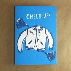 Egg Press Cheer Up Greeting Card