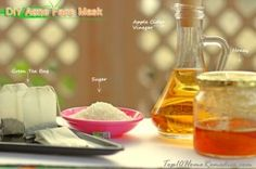 Top 3 DIY Homemade Acne Face Masks and skin eczema cremes