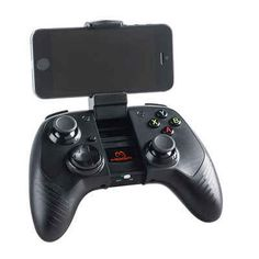 A wireless/bluetooth gaming controller to take the game anywhere.