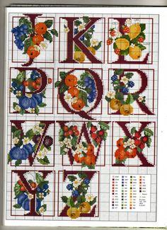 fruit alphabet  4 of 4   Gallery.ru / Фото #70 - 3 - KIM-3