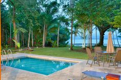 One of our two pools you have exclusively to yourself. - The Whale Resort