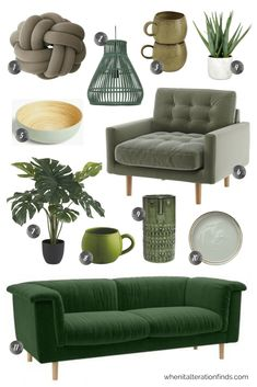 Green home decor ideas | When It Alteration Finds
