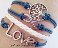 Natural personality infinite charm bracelet love by Coolmybracelet, $4.99
