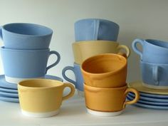 Soendergaard Design - Fantastic Pottery in Suffolk, designed and made by Lars Gregersen Love You, My Love, Pottery Studio, Danish Design, Cup And Saucer, Contemporary Design, Clay, Ceramics, Tableware
