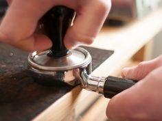 Barista Tips: The Espresso Tamper.