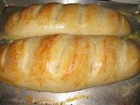EASY Homemade French Bread for about $0.25 a loaf- make 4 loaves in an hour.
